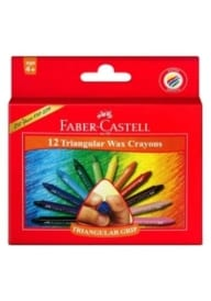 Faber-Castell Trianular Crayons 12