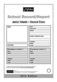 Fallon's Report Card Junior Infants – 2nd Class