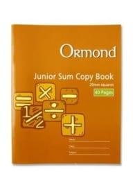 Junior Sum Copy 20mm
