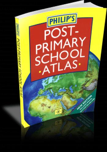 Philips Post-Primary School Atlas