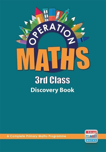Operation Maths 3rd Class – Discovery Book