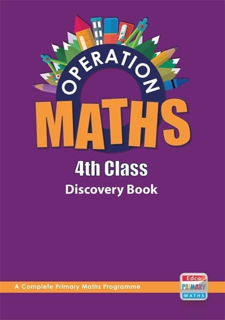 Operation Maths 4th Class – Discovery Book