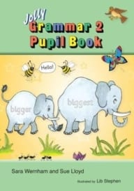 Jolly Phonics Grammar Book 2