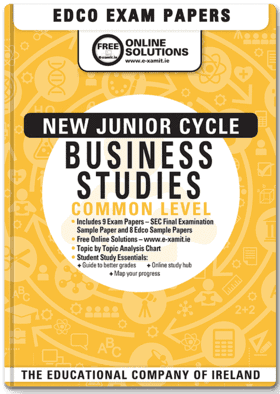 Business Common Level Junior Certificate Exam Papers (incl 2019)