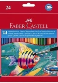 Faber Castell watercolour pencils 24