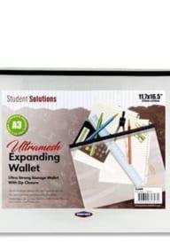 Student Solutions Ultramesh Expanding Wallet A3