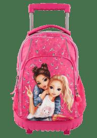 Top Model Backpack : Trolley Pink Alpaca