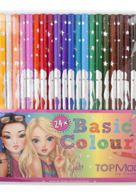 Top Model Colouring Pencils 24 Pack