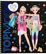 Top Model Dress Me Up Sticker Book