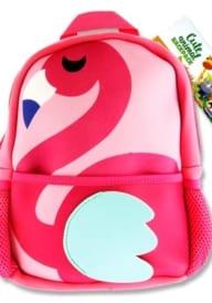 Emotionery Neoprene Cute Animal Junior Backpack - Flamingo