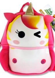 Emotionery Neoprene Cute Animal Junior Backpack - Unicorn