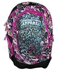 Freelander Pink & Black Backpack