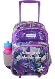 Freelander Purple Trolley Backpack