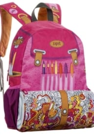Zipit Pink Backpack