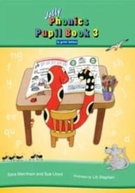 Jolly Phonics Pupils Book 3 – Print