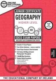Geography Higher Level Junior Certificate Exam Papers (incl 2019)