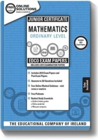 Maths Ordinary Level Junior Certificate Exam Papers (incl 2019)