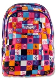 Explore 2-in-1 Backpack - Pink & Purple Plaid