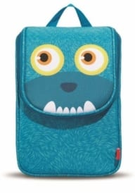 Zipit Monster Blue lunch bag